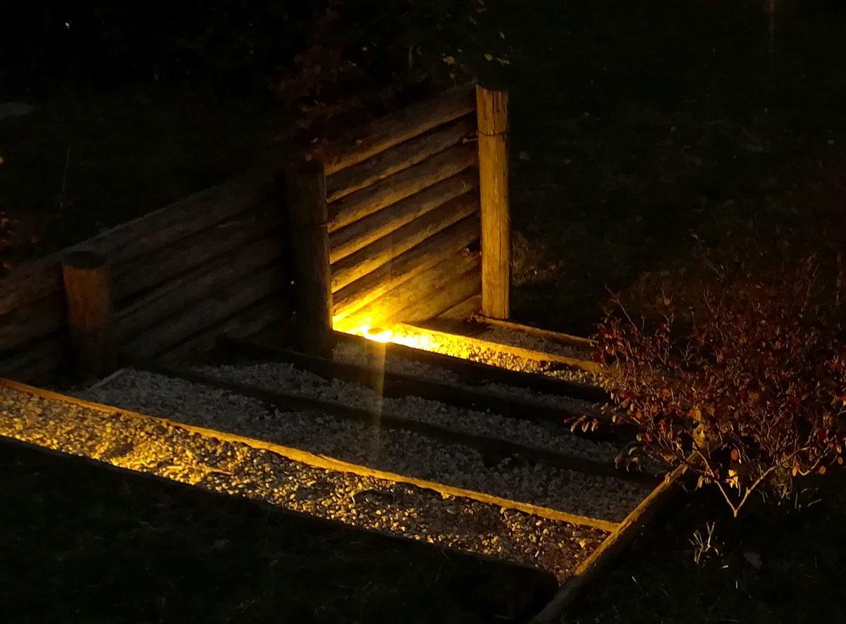 Illuminazione scale faretti a led per esterni edizioni goree for Illuminazione a led per esterni