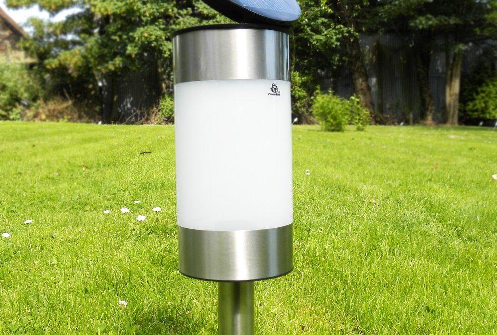 I faretti led solari da giardino sono una magra soluzione